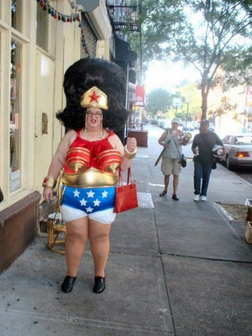 Wonder Woman despu�s de jubilarse