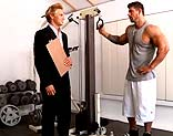 Zeb Atlas & Brady Jensen en el gym